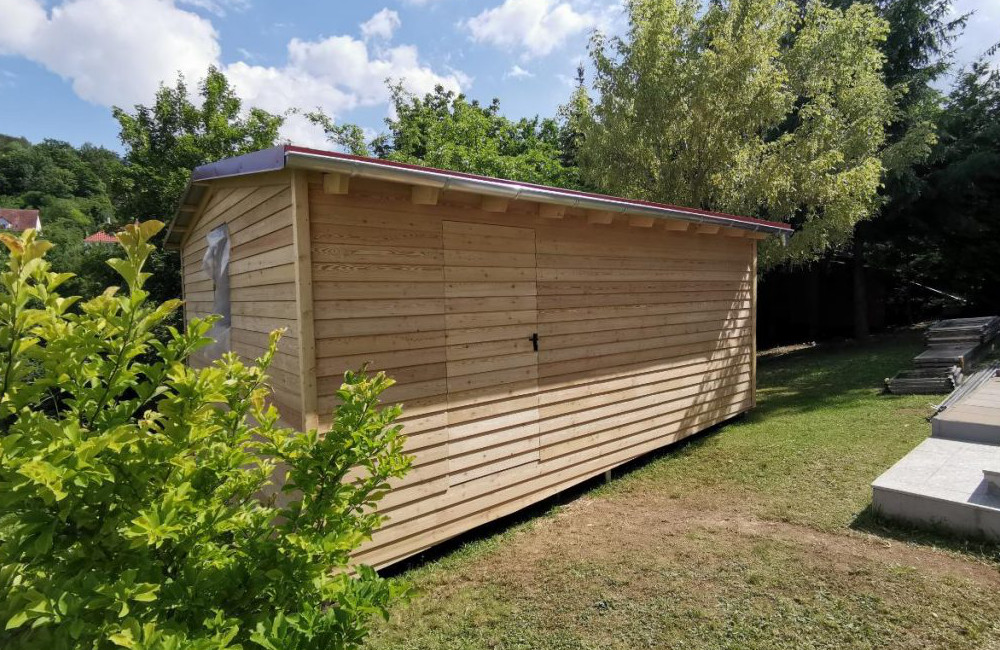 Holzbau Freisinger GmbH Erlenbach Gartenhaus