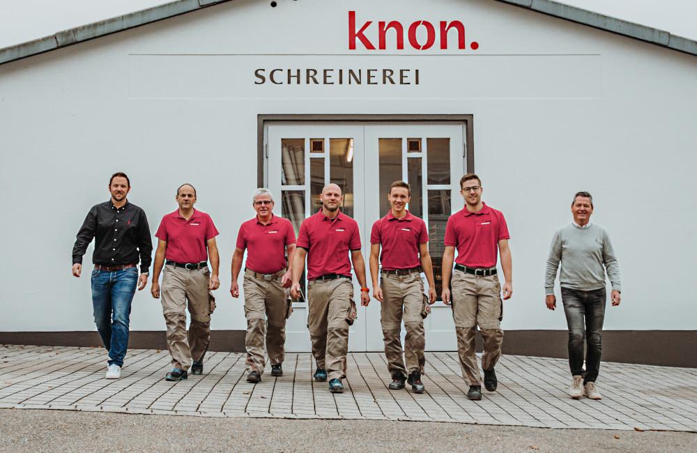 Schreinerei Knon Hauzenberg Team