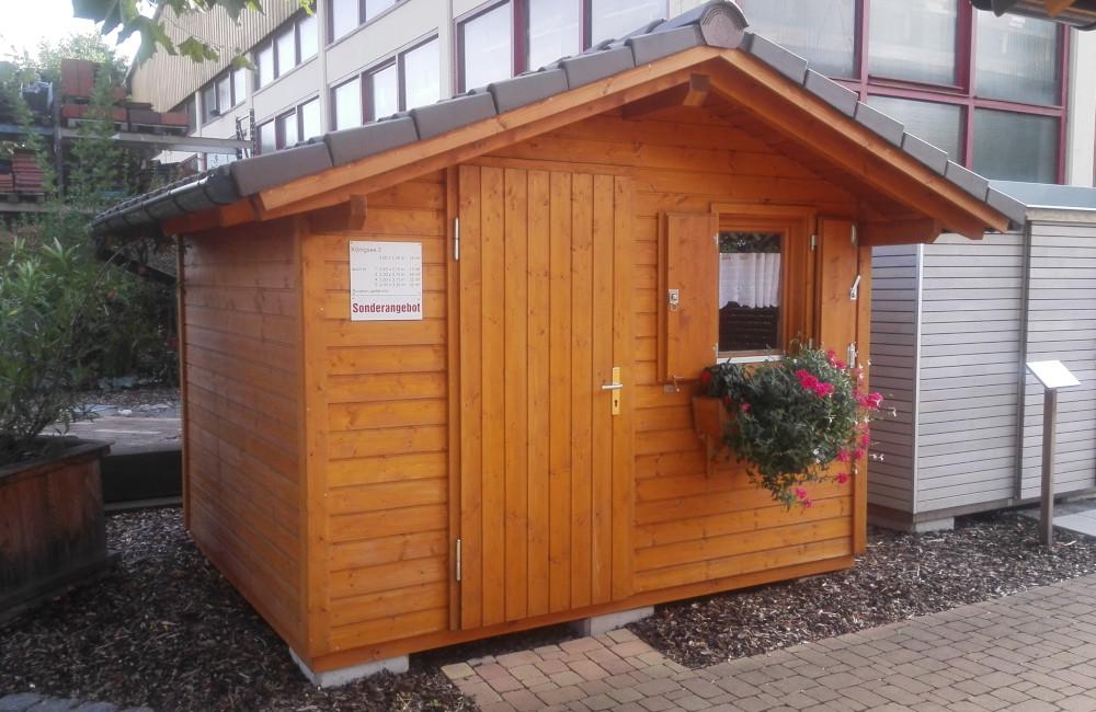 Holzbau Oettinger GmbH Fellbach Gartenhäuser