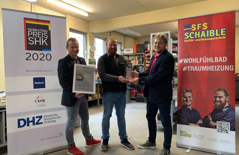 SFS Schaible GmbH Ammerbuch Marketing Preis SHK
